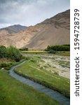view in wakhan corridor in... | Shutterstock . vector #1594728739