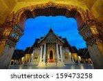 wat benchamabophit night ... | Shutterstock . vector #159473258