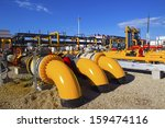 oil and gas processing plant | Shutterstock . vector #159474116