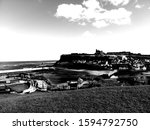 Looking Across Whitby At The...
