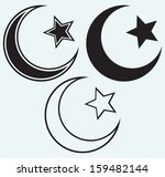 Religious Islamic Star And...