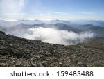 View From The Top Of Ben Nevis...