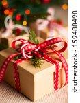 Christmas Gift Box With...
