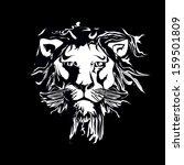 lion | Shutterstock .eps vector #159501809