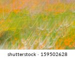 abstract image of flowers using