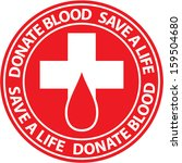 Donate Blood Emblem.
