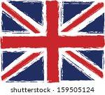 british flag   Shutterstock .eps vector #159505124