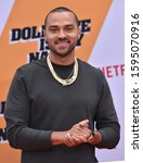 Small photo of LOS ANGELES - SEP 28: Jesse Williams arrives for 'Dolemite Is My Name' Los Angeles Premiere on September 28, 2019 in Westwood, CA