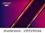 modern magenta gradient...   Shutterstock .eps vector #1595190166