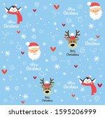 Christmas Kids Pattern   Santa  ...