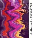purple marble color combination ...   Shutterstock . vector #1595240773