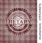 Dietary Red Emblem With...