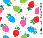 Seamless Pattern Multi Colored...