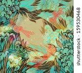 resumen,arte,fondo,hermosa,belleza,color beige,azul,tarjeta,concepto,creatividad,curva,baile,decoración,libélula,dibujo