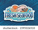 Vector Logo For Fresh Seafood ...