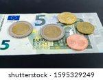 in germany the minimum wage ... | Shutterstock . vector #1595329249