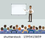 group of working people ... | Shutterstock .eps vector #1595415859