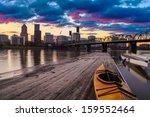 Portland  Oregon Panorama. ...