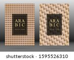 islamic pattern vector cover... | Shutterstock .eps vector #1595526310