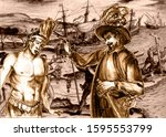 Conquistadors series. Juan de Grijalva was a Spanish conquistador, and relation of Diego Velázquez. The conquest of Yucatan and the Aztecs.