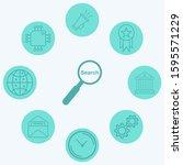 search vector icon sign symbol