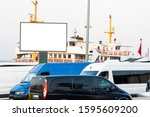 close up advertising sign. in...   Shutterstock . vector #1595609200