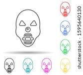 dreadful horrible mask multi...