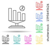 business analytics multi color...