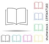open book multi color style...
