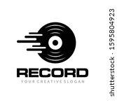 music record  music studio...   Shutterstock .eps vector #1595804923