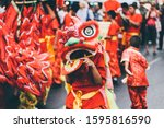 Lion Dance During Chinese New...