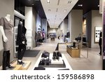 luxury and fashionable european ...   Shutterstock . vector #159586898