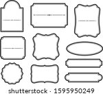 frames that can be used for... | Shutterstock .eps vector #1595950249