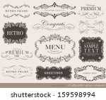 vector illustration of... | Shutterstock .eps vector #159598994