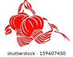 Red Lantern Vector   Symbol Of...