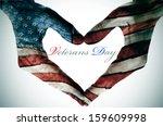 Veterans Day Written In The...
