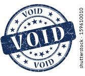 void grunge round blue stamp | Shutterstock . vector #159610010
