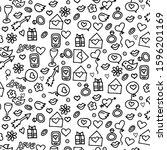 sketchy vector hand drawn...   Shutterstock .eps vector #1596201169