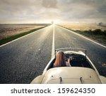 Beautiful Woman Traveling On A...