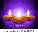 elegant violet color religious... | Shutterstock .eps vector #159648224