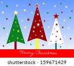 christmas tree | Shutterstock . vector #159671429
