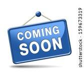 coming soon  sign | Shutterstock . vector #159673319