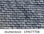 Background Of Roof With Slate...