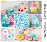 Cupcake Candy Cakepop Collage...