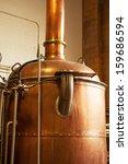 Copper Boil Kettle In The...