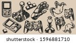 set of vector elements design... | Shutterstock .eps vector #1596881710