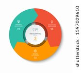 infographic process chart....   Shutterstock .eps vector #1597029610