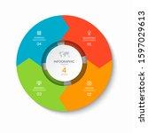 infographic process chart....   Shutterstock .eps vector #1597029613