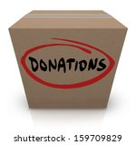 The Word Donations On A...