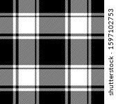 buffalo check plaid pattern... | Shutterstock .eps vector #1597102753
